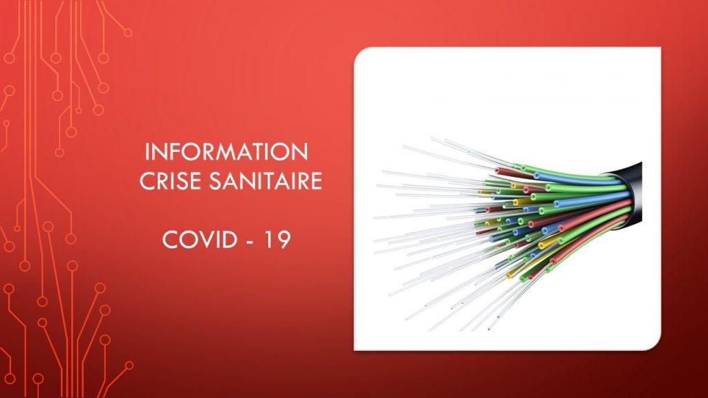 INFORMATION Crise Sanitaire COVID-19